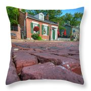 Cobble Stone Throw Pillow
