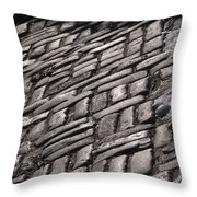 Cobble Stone Walk Throw Pillow