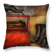 Cobbler - Life Of The Cobbler Throw Pillow