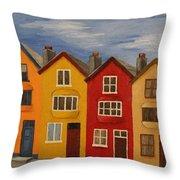 Cobh, Ireland Throw Pillow
