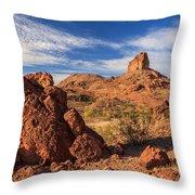 Cobra Mountain Throw Pillow