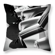 Cobra Pit Throw Pillow