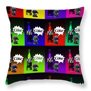 Coca-cola Forever Young 13 Throw Pillow