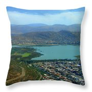 Cochabamba Lake Throw Pillow