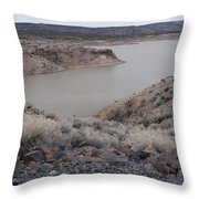 Cochiti Lake Throw Pillow