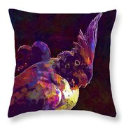 Cockatiel Corrugated Parakeets Birds  Throw Pillow