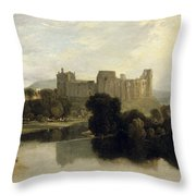 Cockermouth Castle Throw Pillow