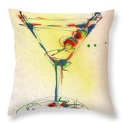 Cocktail #5 Throw Pillow
