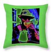 Cocktails Anyone Throw Pillow