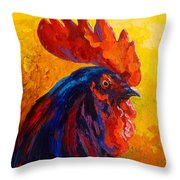 Cocky - Rooster Throw Pillow