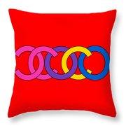 Coco Chanel-8 Throw Pillow