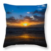 Cocoa Beach Sunrise 5 Throw Pillow