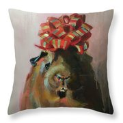 Cocoa Throw Pillow