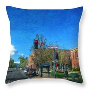 Coconino County Courthouse Throw Pillow