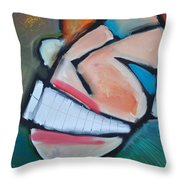 Coconut Bread Throw Pillow