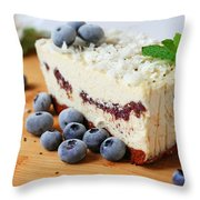 Coconut Cashew Dreams Throw Pillow