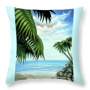 Coconut Cove Throw Pillow