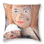 Coconut Family Throw Pillow