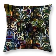 Coctails At Five Throw Pillow