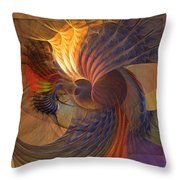 Code Of Justice Throw Pillow