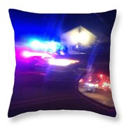 Codified Ancillary Pressure Throw Pillow