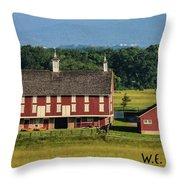 Codori Barn Throw Pillow