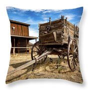 Cody Wagon Train Throw Pillow