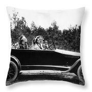 Coeur Dalene, C1916 Throw Pillow