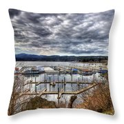 Coeur D'alene Resort Throw Pillow