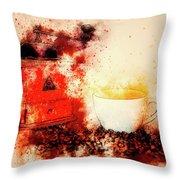 Coffe Grinder Throw Pillow