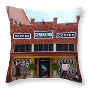 Coffee Anyone  Throw Pillow