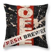 Coffee Fresh Brewed Throw Pillow