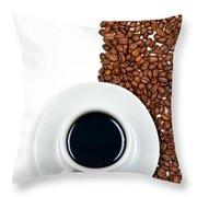 Coffee Throw Pillow by Gert Lavsen