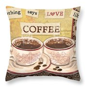 Coffee Love-jp3592 Throw Pillow
