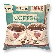 Coffee Love-jp3593 Throw Pillow