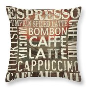 Coffee Of The Day 2 Throw Pillow