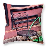 Jonesborough Tennessee - Coffee Shop Throw Pillow