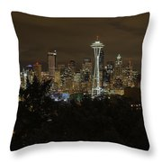 Coffee Town Throw Pillow