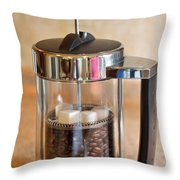 Coffee With Sugar Throw Pillow