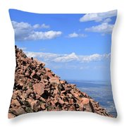 Cog View Throw Pillow