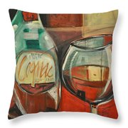 Cognac Throw Pillow