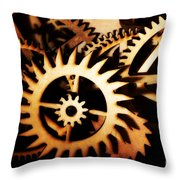 Cogwheel  Throw Pillow