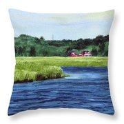 Cohansey River Throw Pillow