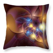 Coherence Of Desire Throw Pillow