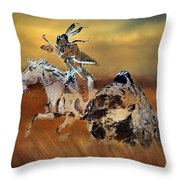 Cohick's Mural Throw Pillow