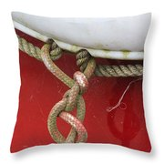 Cohitched Throw Pillow