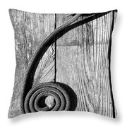 Coiled Throw Pillow
