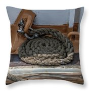 Coiled Rope Throw Pillow