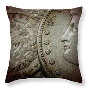 Coin Collector I Throw Pillow