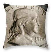 Coin Collector Vi Throw Pillow